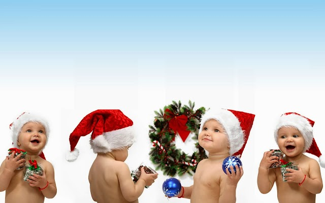 Christmas Baby Facebook Cover Photos