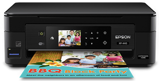 Epson Expression Home XP-446 Small-in-One Printer image,  Epson Expression Home XP-446 Small-in-One Printer support