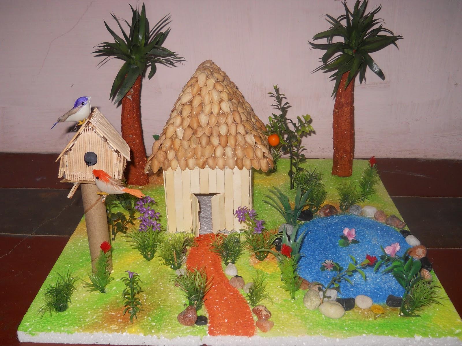 Bhuvana's Creative World: School Projects
