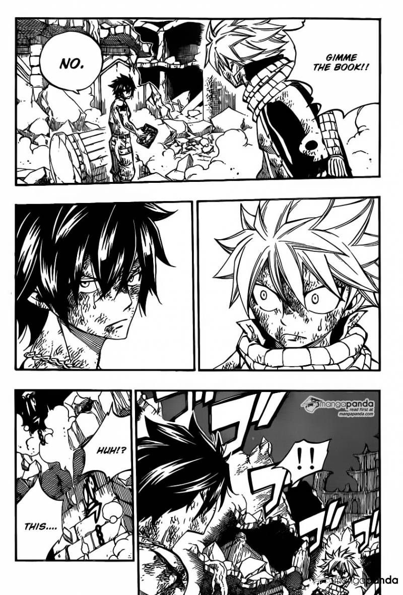 Fairy Tail Ch 412: Dancing to Ishgars Tune