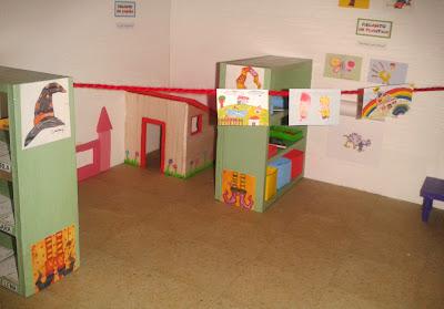Maqueta personalizada aula infantil colegio