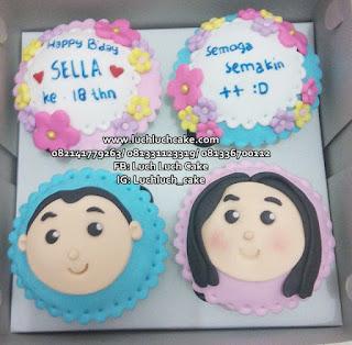 Cupcake Cantik Murah Romantis Surabaya - Sidoarjo