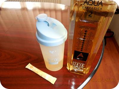 gustare cu ceai de Aloe Vera si Forever Fiber