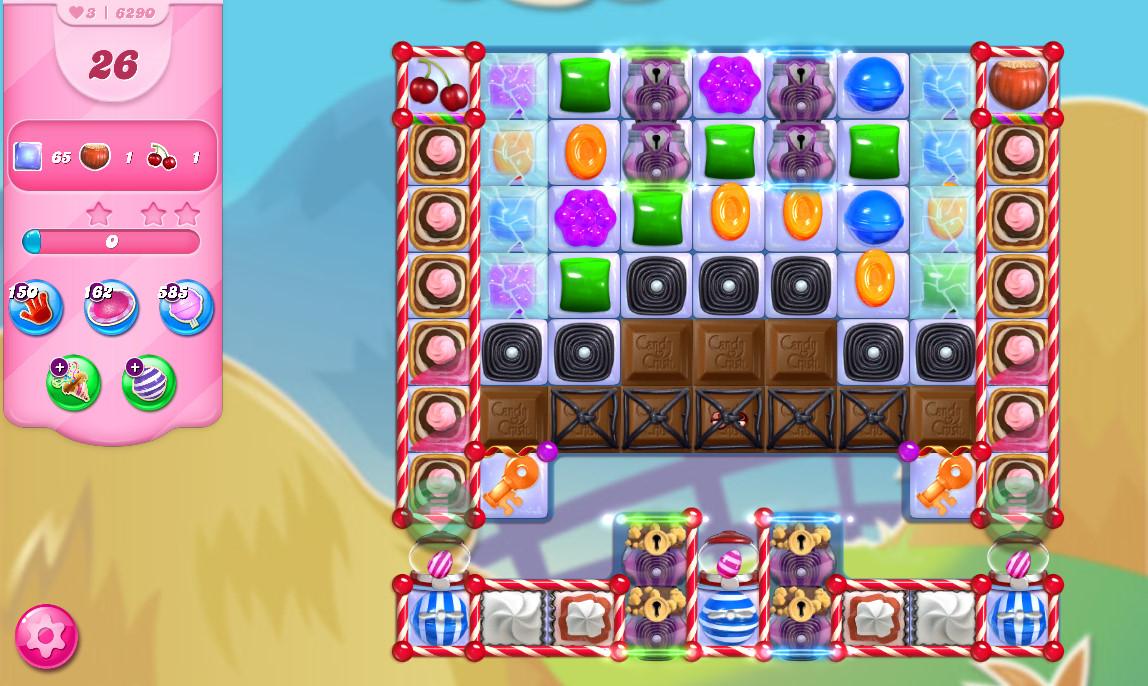Candy Crush Saga level 6290