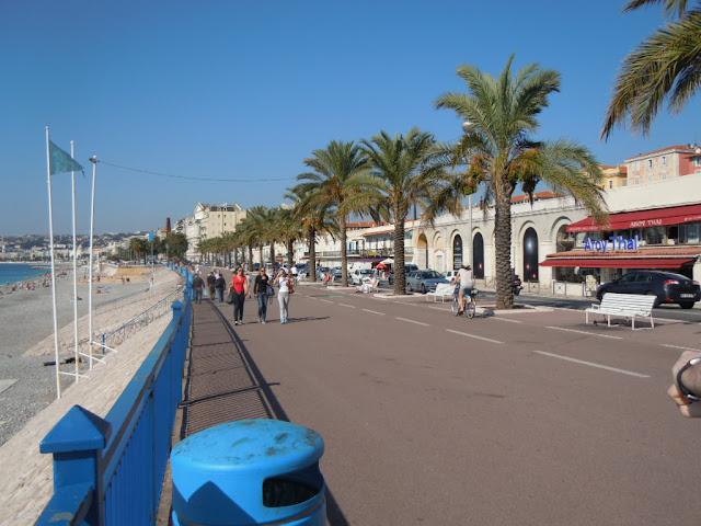 Passear pela Orla de Nice