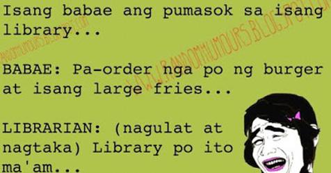 Order taker sa Library