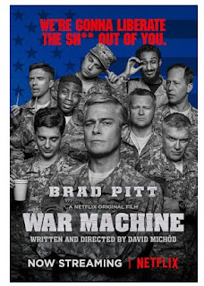 Download Film War Machine (2017) HDRip Subtitle Indonesia