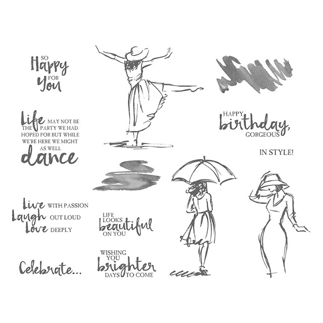Craftyduckydoodah!, Stampin' Up! UK Independent  Demonstrator Susan Simpson, Beautiful You, Stamp 'N' Hop April 2019, Supplies available 24/7 from my online store,