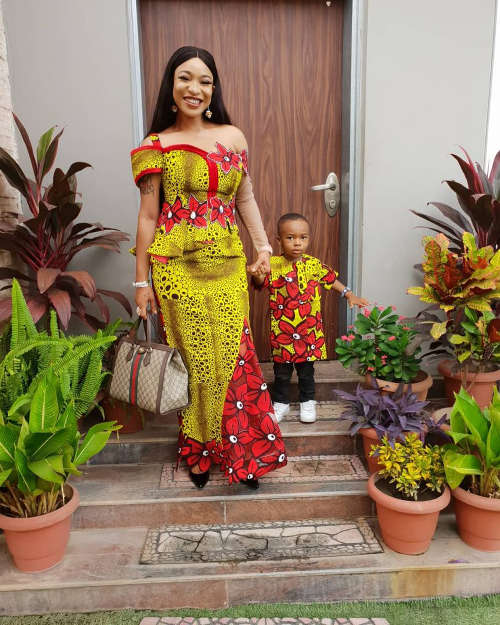 Ankara long gowns in Nigeria