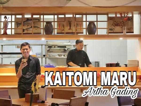 Mencecap Pesisir Jepang di KAITOMI : MARU Mall Artha Gading