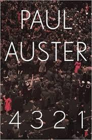 Paul Auster's book '4 3 2 1'
