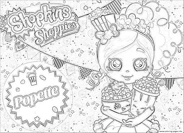 shopkins shoppies coloring pages - photo#29