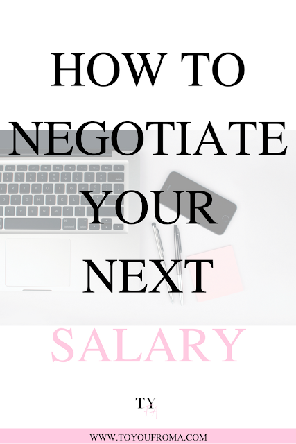 learn what you need to do to be able to negotiate your next salary