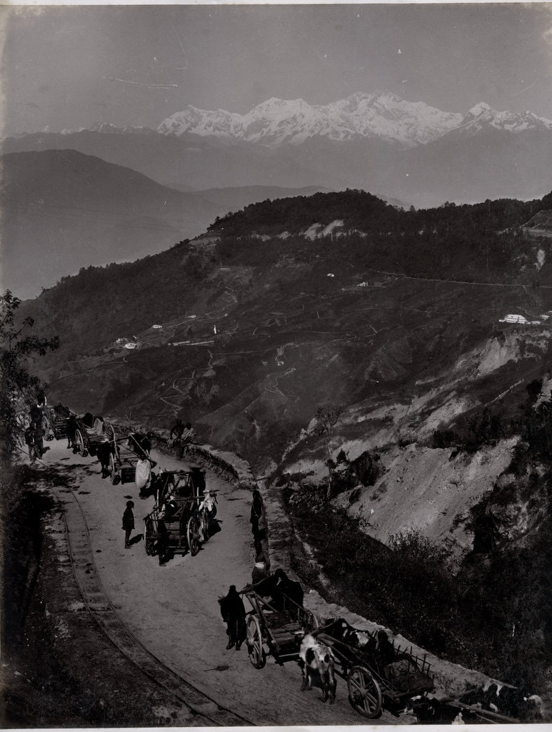 Darjeeling Road - c1880's