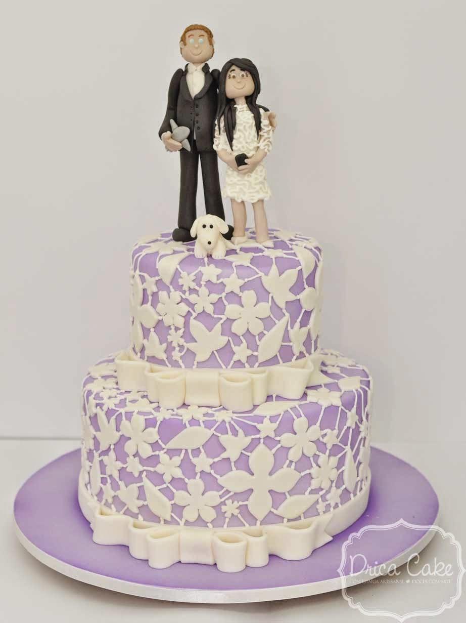 657730798b Drica Cake Confeitaria Artesanal Bolo De Casamento Lilás