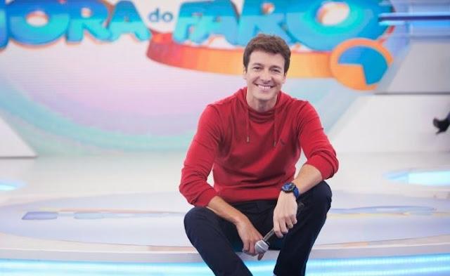 Rodrigo Faro renova com a Record após ser sondado pela Globo