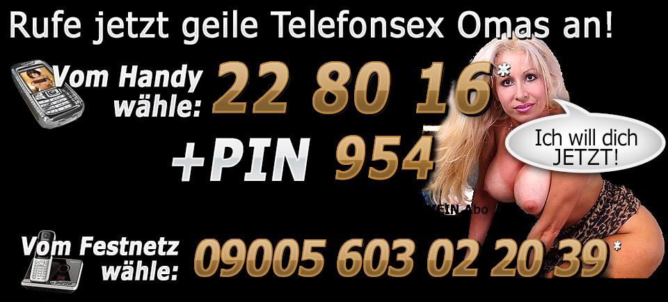 Oma Telefonsex Rufnummer