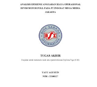 analisisi biaya anggaran, tugas akhir, tugas akhir manajemen administrasi, tugas akhir MA