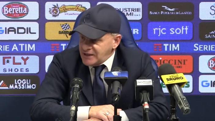La conferenza stampa di Giuseppe Iachini pre Empoli Parma
