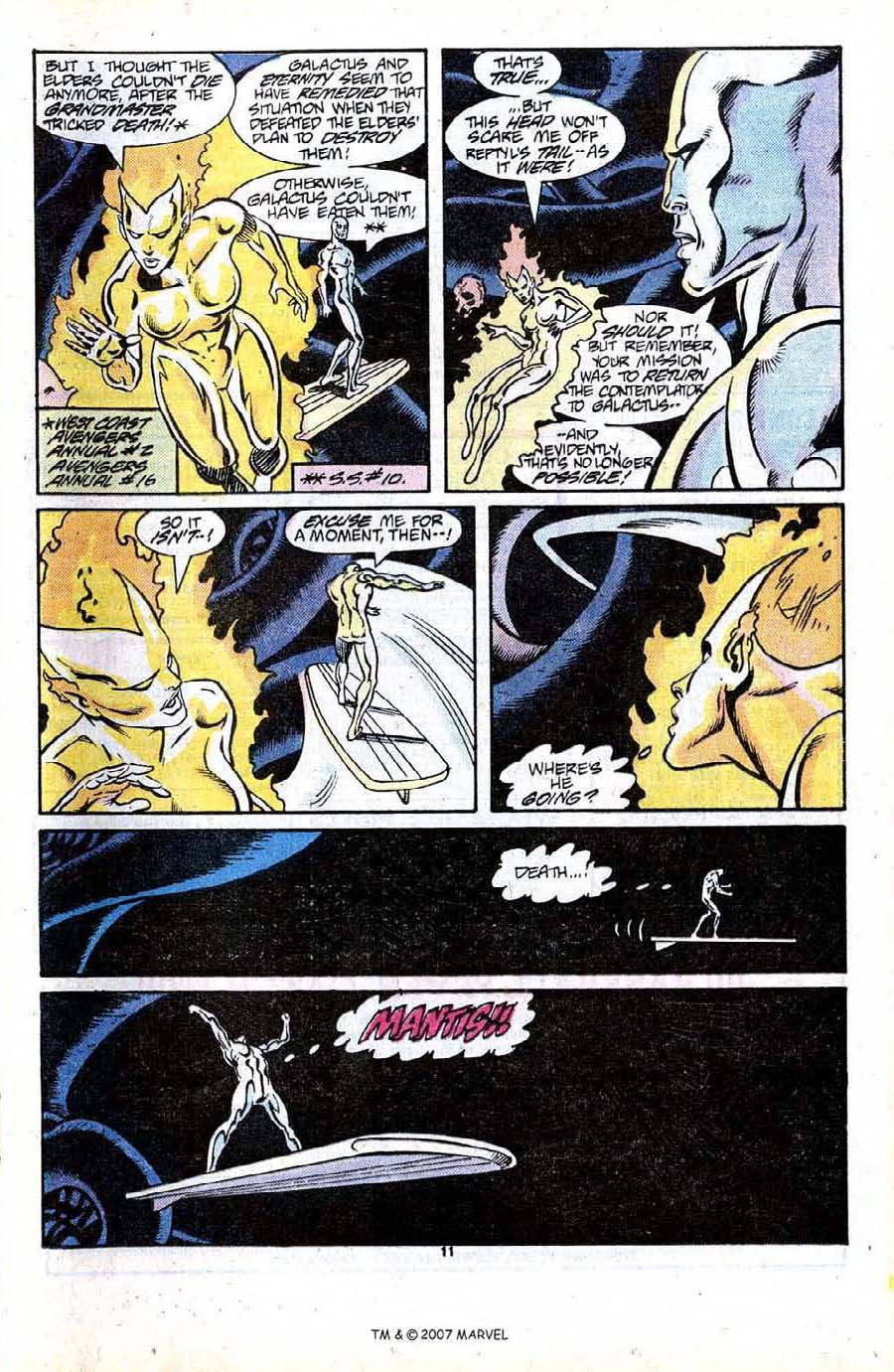 Read online Silver Surfer (1987) comic -  Issue #13 - 13