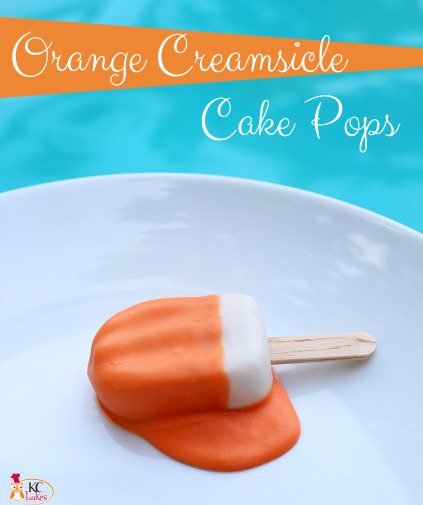 Melted Popsicle Cake Pop by KC Bakes