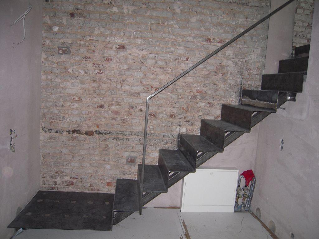 fr bel metallbau treppe abgetreppt. Black Bedroom Furniture Sets. Home Design Ideas