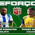 Lagarto anuncia volante Júnior Borracha e atacante Thiago Santos