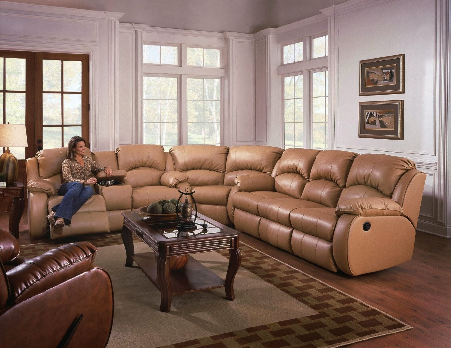 Lane Dual Power Reclining Sofa Novara Ivory Lounger With Storage Ottoman The Best Home Furnishings Reviews: Southern ...