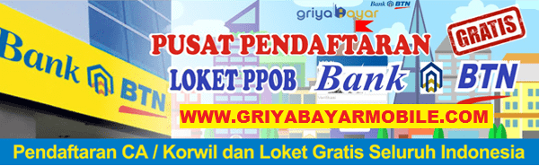 Cara Daftar Korwil Griya Bayar Mobile PPOB Bank BTN