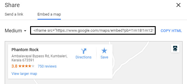 How to Embed Google Maps into Blogger