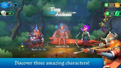 Pada kesempatan kali ini aku akan membagikan kepada sahabat semuanya sebuah game android t Unduh Game Tiny Archers Apk v1.3.25.0 (Mod Money)