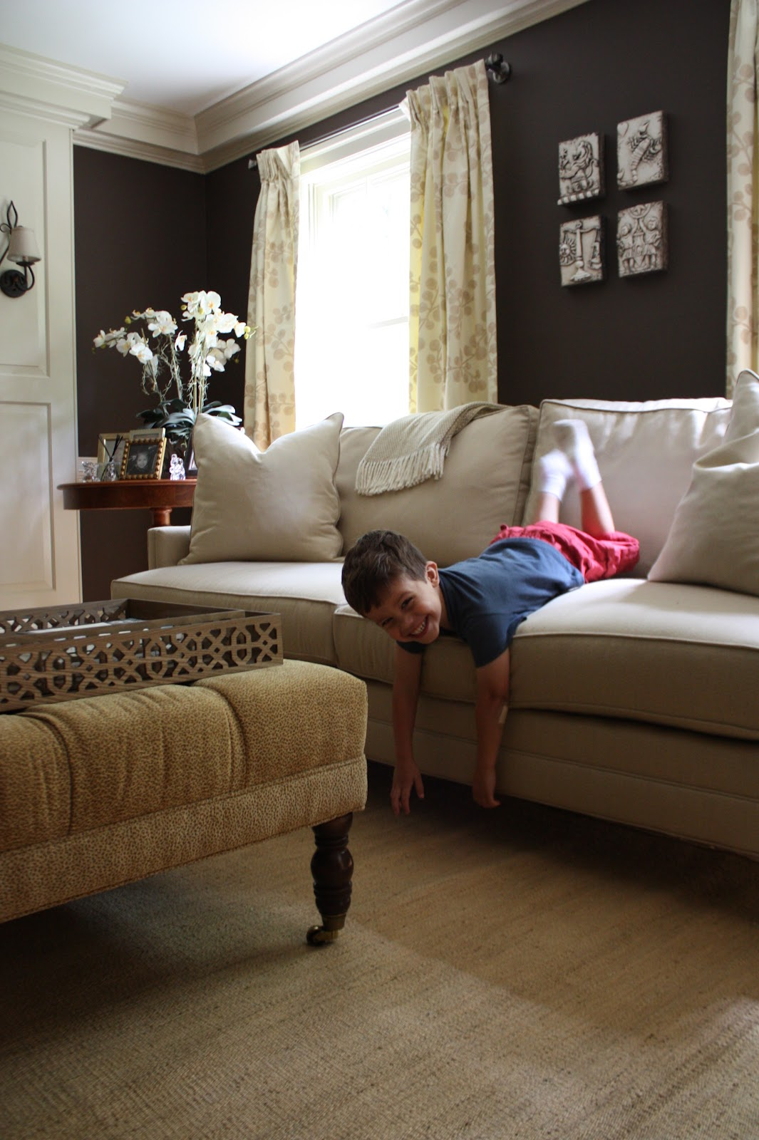 kid proof sofa tan microfiber bed 5 ways to create a friendly family room