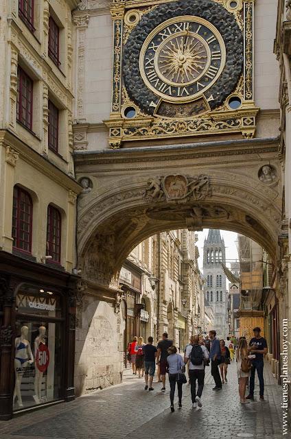 Turismo Ruan Rouen viaje Normandía Francia