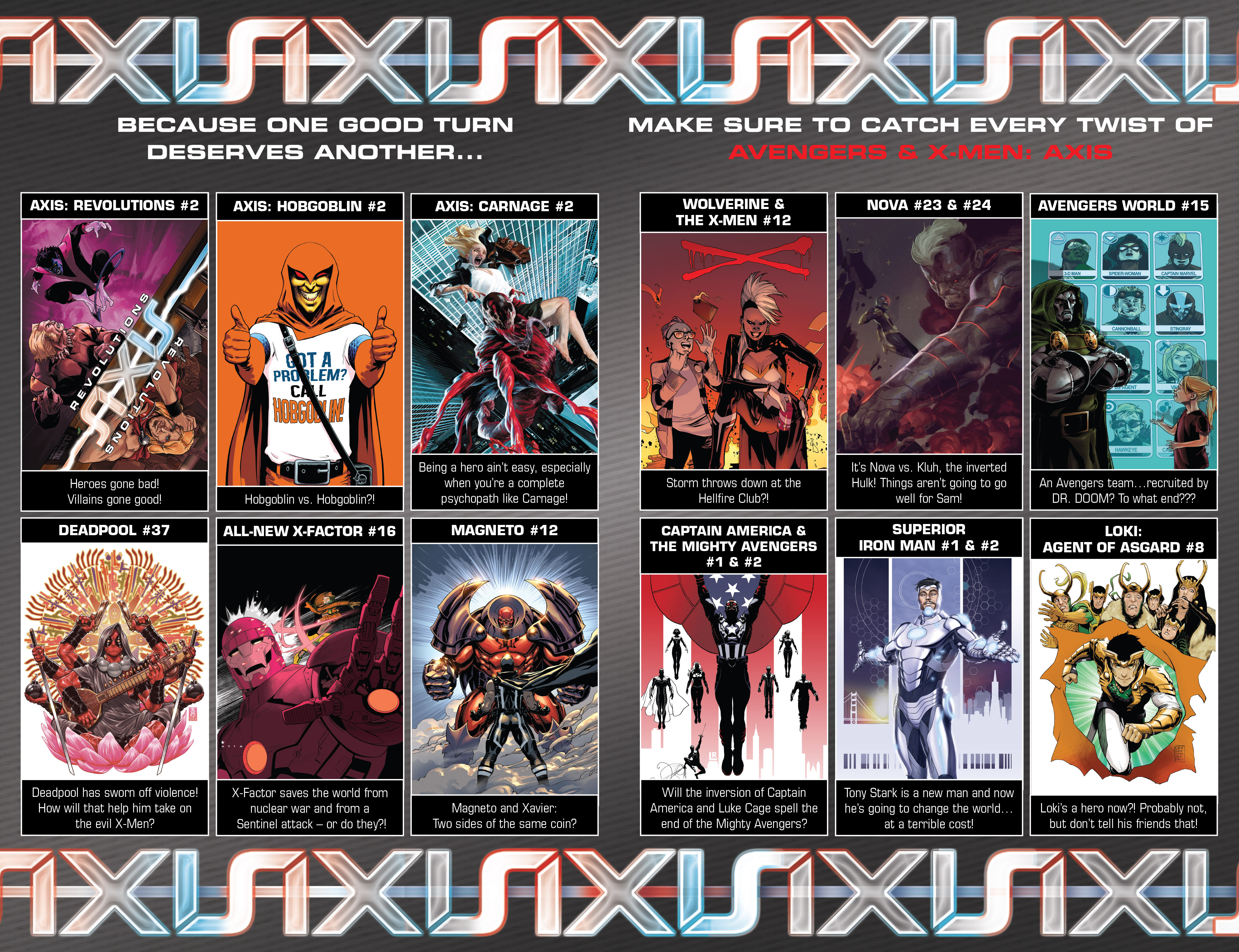 Read online Avengers & X-Men: AXIS comic -  Issue #6 - 27