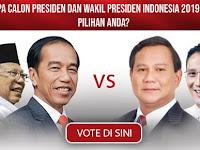 Poling Pilihpresiden.com, Prabowo Menang Telak dari Jokowi