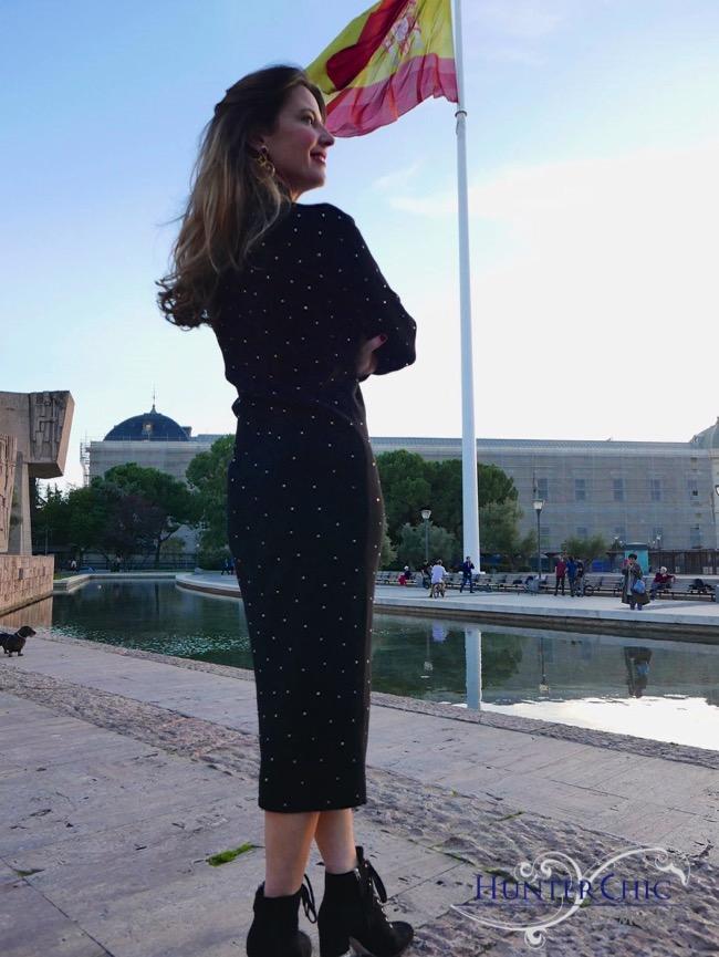 hunterchic by marta-marta halon de villavicencio-vestido punto como combinarlo