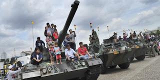 Rayakan HUT ke 73, TNI gelar pameran alutsista di Monas