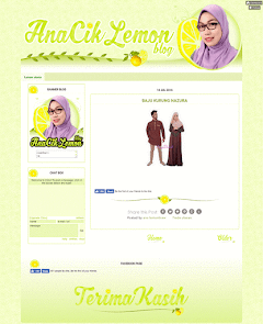 Design Blog AnaCikLemon