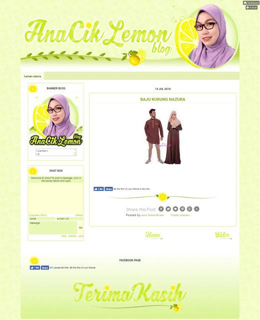 Design Blog AnaCikLemon