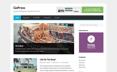 GoPress WordPress Theme