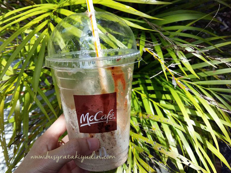 Mocha Ice Blended McD sedap gila!
