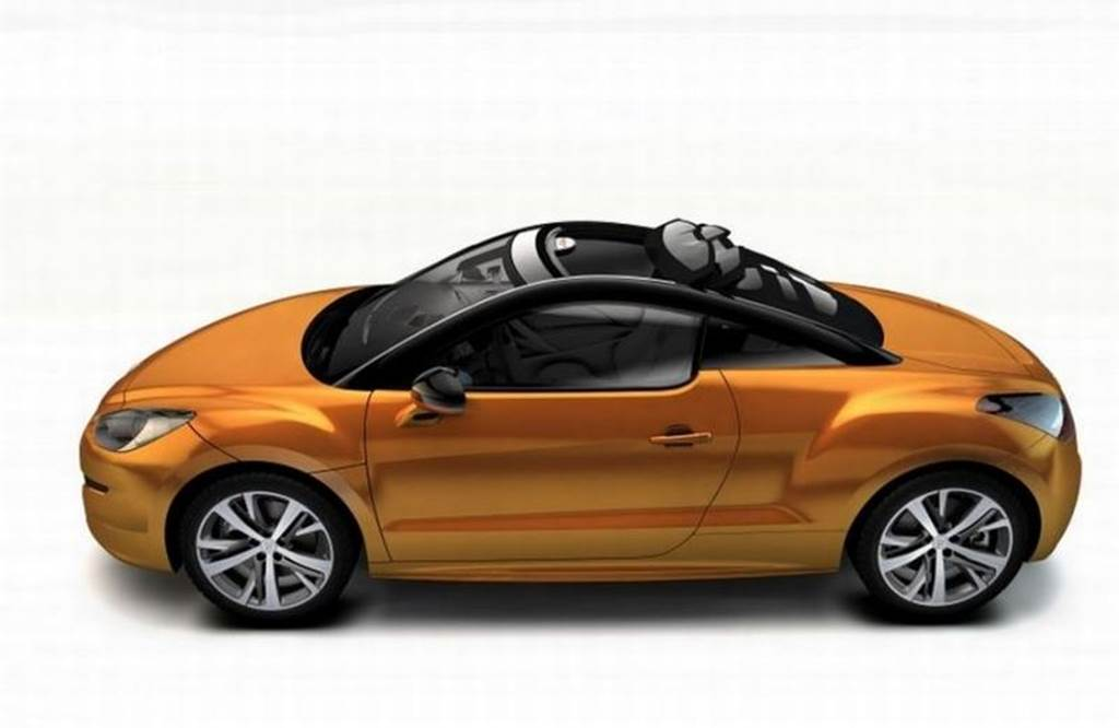 peugeot rcz convers vel uma vers o com teto de lona em genebra car blog br. Black Bedroom Furniture Sets. Home Design Ideas