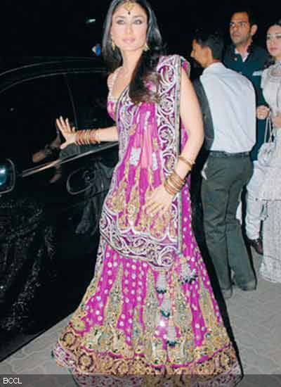 kareena on amrita arora's wedding