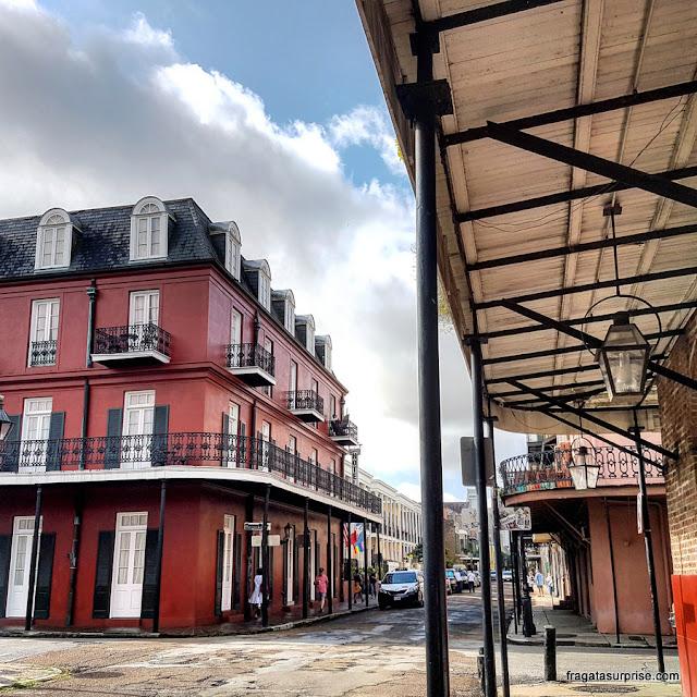 Arquitetura colonial de Nova Orleans
