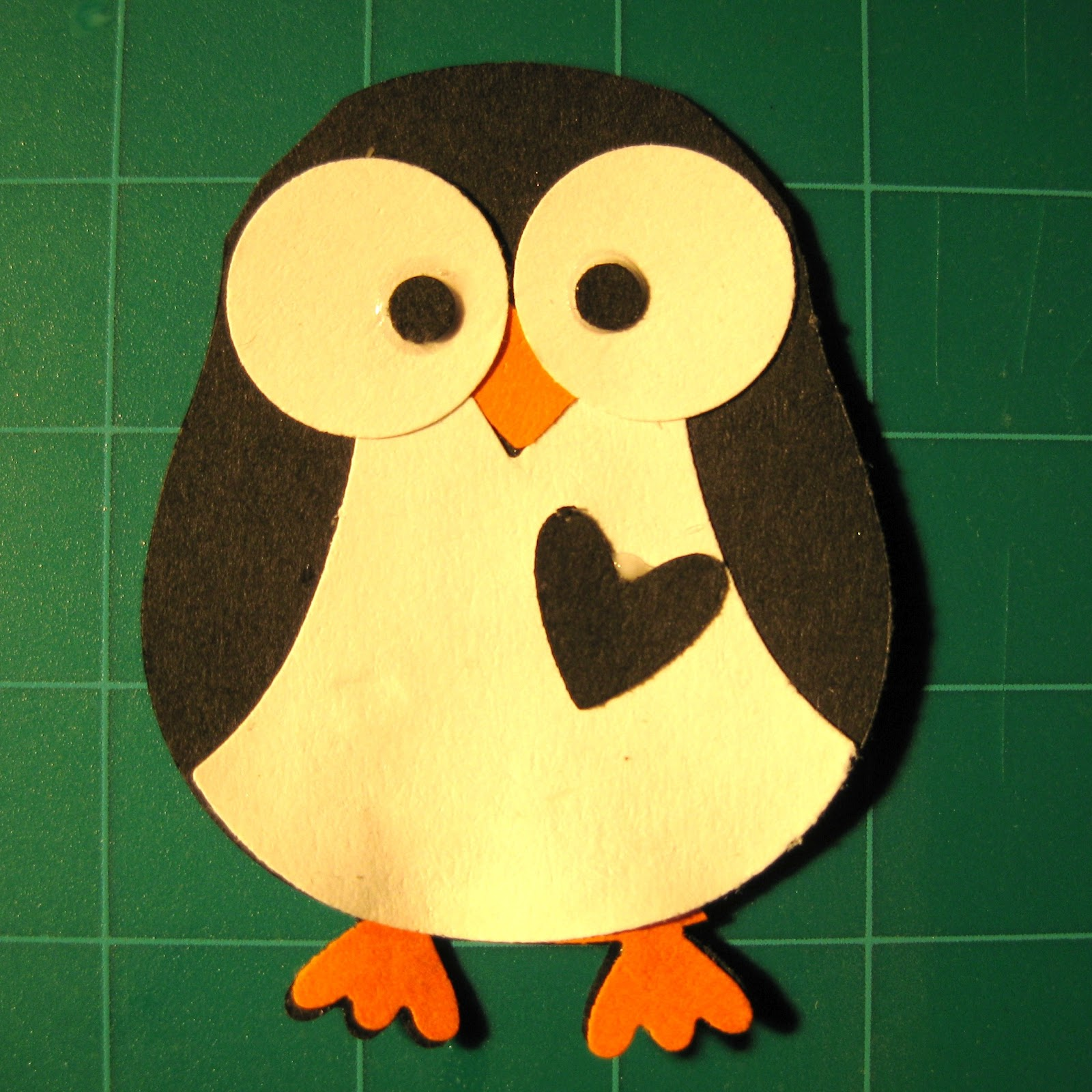ideas for taking monthly pictures of baby - Crafts for Kids Owl Builder Punch Doodlings