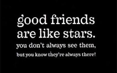 good-friends-are-like-stars-whatsapp-dp