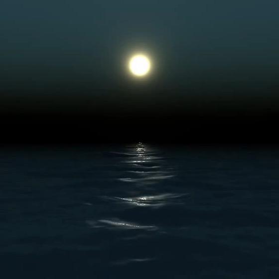 Night Ocean Wallpaper Engine