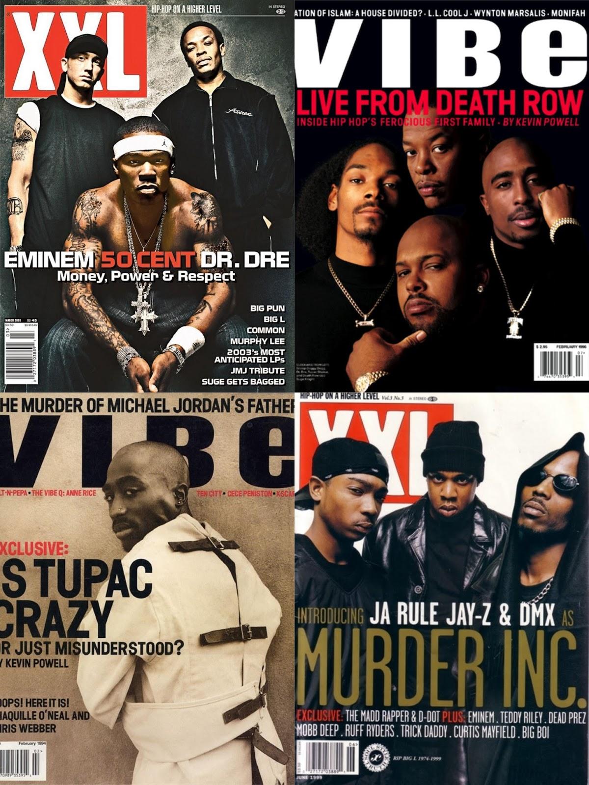 DAR Hip Hop: 10 Classic Hip Hop Magazine Covers - DefineARevolution.com