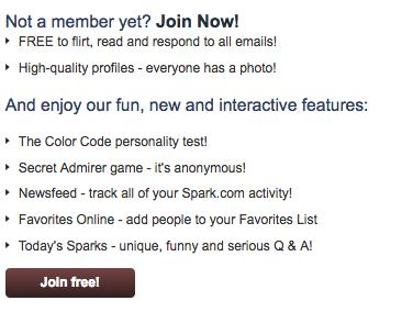 Spark Sign Up