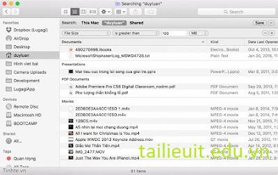 Vài cách nhanh gọn để dọn dẹp máy Mac